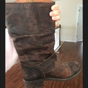 Distressed Steve Madden boots